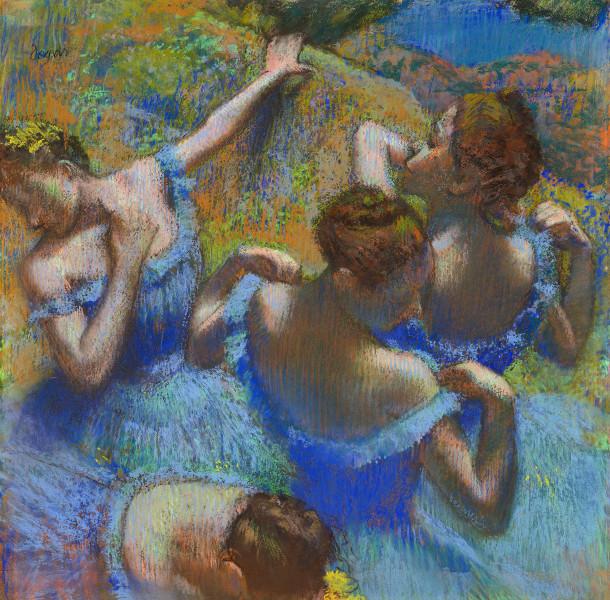 Танцівниці в блакитному