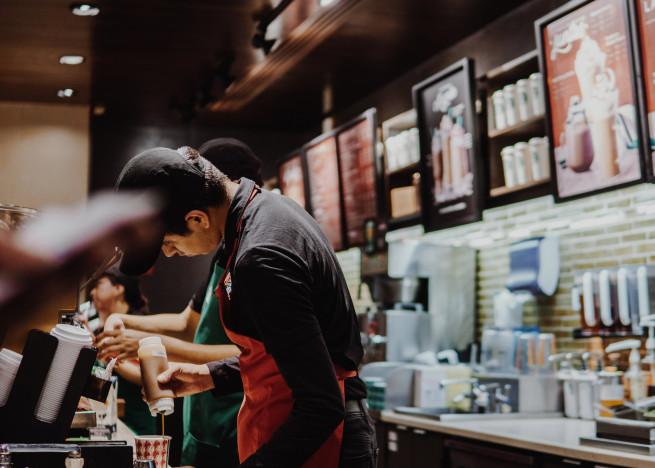 Культура обслуговування в Старбакс